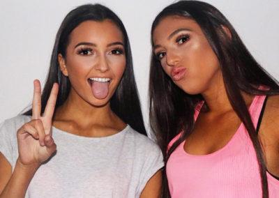 Isabel and Mia | Sarah Fritz Makeup
