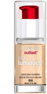 Covergirl Outlast Stay Luminous | Sarah Fritz Makeup